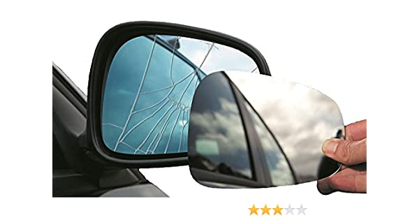 Fits on lhs of vehicle Summit Replacement Mirror Glass
