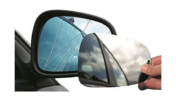 Summit Replacement Wide Angle Mirror Glass Fits on RHS of Vehicle
