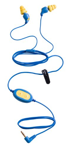 3M Peltor E-A-Rbud Corded Earplugs 2600, Noise-isolating Entertainment Headset (Pack of 1)