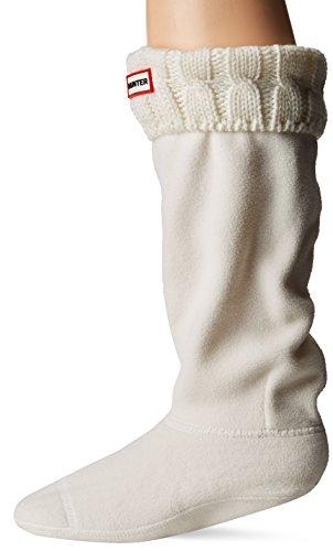 Erwachsene Unisex Natur Original Gummistiefel Hunter Socken Inch Cable Weiß 6 Tall 4x7wRAx