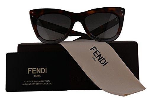 Fendi Authentic Sunglasses FF0238/S Havana Grey w/Dark Grey Gradient Lens AB8 FF 0238/S F02438/S FF0238S F0238S - And Deals Steals Sunglasses