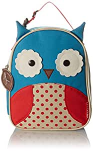 Skip Hop Zoo Lunchie Insulated Kids Lunch Bag, Owl