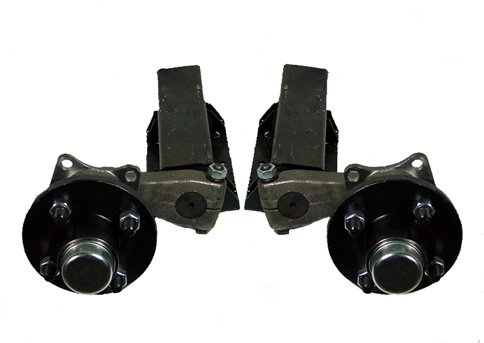 550 lb. Capacity Non-Adjustable Torsion Half Axles (4-4