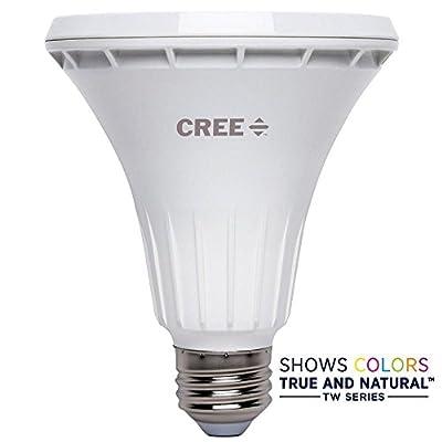 Cree 75W Equivalent Bright White PAR30 Long Neck 40 Degree Flood Dimmable LED Light Bulb