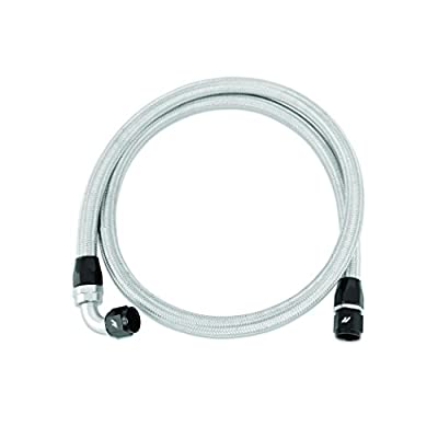 5ft Stainless Steel Braided Hose w -10AN Fittings Mishimoto: Automotive
