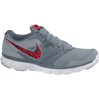 1793f35b002ca NIKE Men s Flex Experience RN 3 MSL Running Shoes - Grey Red Black White