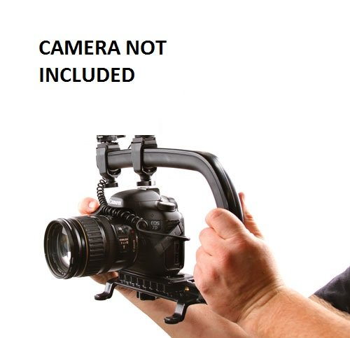Pro Video Stabilizing Handle Scorpion grip For: Pentax Optio E60 Vertical Shoe Mount Stabilizer Handle