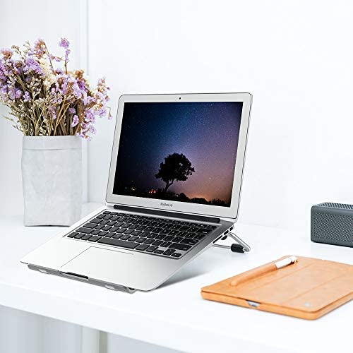 Adjustable Laptop Stand DockCompatible All MacBook Pro Air HP Dell Acer Le...