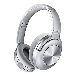 Best Epic Trends 412paDCiYpL._SS300_ Active Noise Cancelling Headphones VANKYO C750 Wireless Bluetooth Headphones Over Ear Headset with CVC 8.0 Mic Hi-Fi…