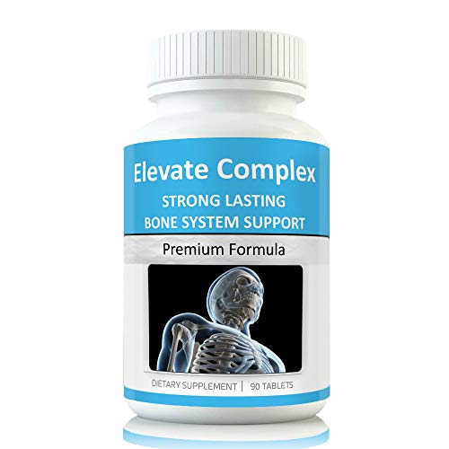 Elevate Grow Taller Bone Support Supplements Support to Grow Taller. Vitamins for Height end Need for Height Increase Insole (Best Height Increase Supplement)