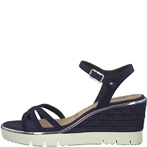 D'été Chaussures 28029 1 Navy Touch Sandales Femme Tamaris It X8nwPk0O