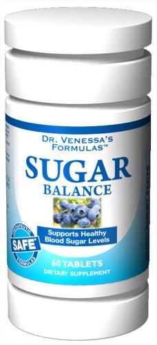 - DR. VENESSA'S FORMULAS SUGAR BALANCE SUPPORT, 60 TAB