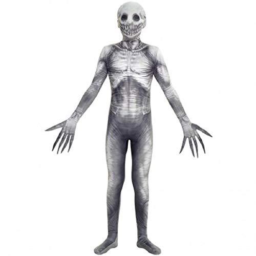 Smiley Killer Halloween (Morphsuits Boys X-Large (14-16) The Rake Urban Legend Morphsuit, White)