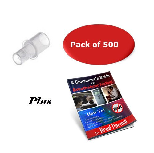 AlcoMate Breathalyzer Mouthpieces - Pack of 500 by Combined Product (Image #8)