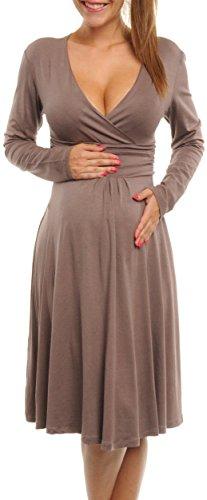 Twist Waist Jersey Dress - 7