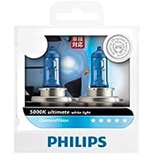 Genuine Philips Diamond Vision H4 9003 HB2 12V 55W 5000K (Imported) 12342DVS2