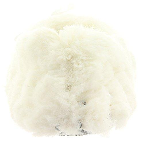 Hausschuhe im Ballerina Stil FLUFFY CLOUD 35229 Off White
