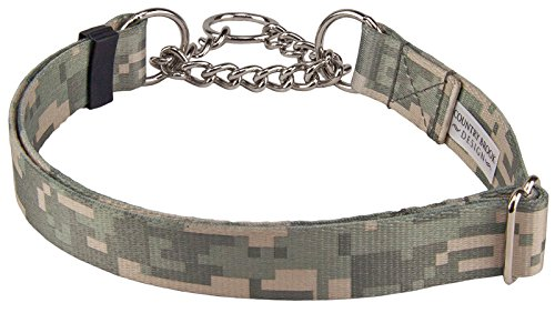 Country Brook Design Digital Camo Half Check Dog Collar - Medium