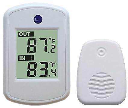 Ambient Weather termómetro inalámbrico con temperatura interior y exterior