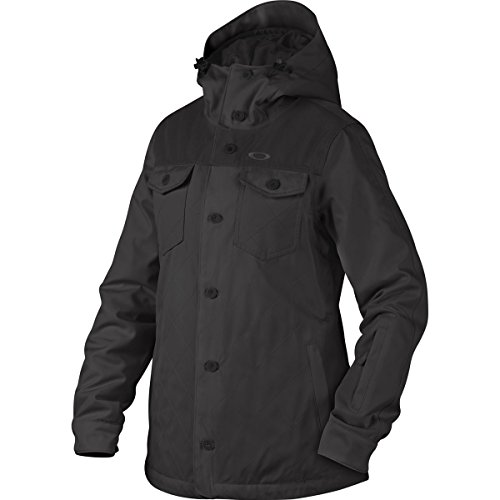 Oakley Women's Spotlight BZI Jacket, X-Small, Jet Black