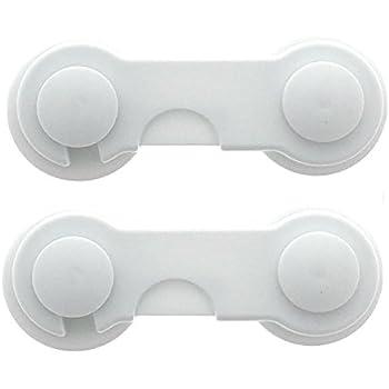 Bifold Door Lock (2 pack), Child Safety Closet Door Locking By ...