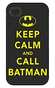 Keep Calm and Call Batman Iphone 4 Case by runtopwell