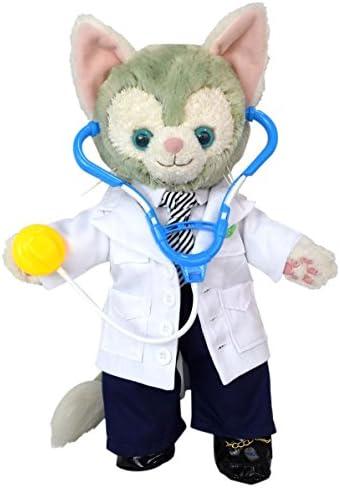 テディベア通販アリス ジェラトーニ 服 コスチューム 聴診器付 お医者様 ドクター 本体無 Sサイズ用