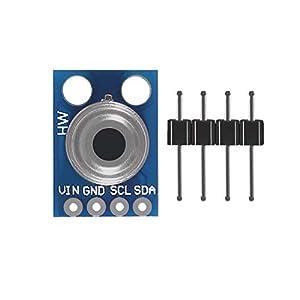 AITRIP 2PCS GY-906 MLX90614ESF Non-Contact Infrared Temperature Sensor Module IIC I2C Serial for Arduino