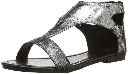 Brinley Co Womens Bliss Sandalo Piatto In Peltro