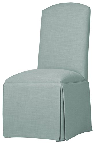 Sloane Whitney Hadley Skirted Parsons chair, Cloud (Chair Skirted Parsons)