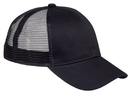 Wholesale Trucker Caps (Big Accessories / BAGedge 6-Panel Structured Trucker Cap - BLACK - One Size)
