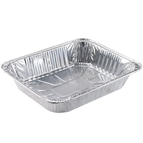Perfect Stix Foil Pan 11.75-10ct Half Size Steamtable Foil Pans, 11.75″ (Pack of 10)