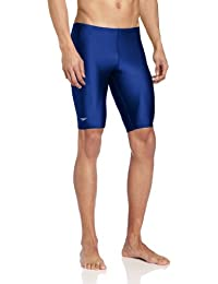 Men's PowerFLEX Eco Solid Jammer Swimsuit