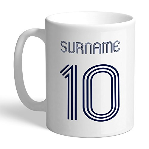 Tottenham Hotspur Official Personalized FC Retro Shirt Mug - FREE PERSONALISATION by Tottenham Hotspur