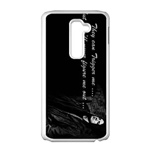 High Quality Specially Designed Skin cover Case eminem 5 LG G2 Cell Phone Case White