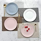 Home Brilliant Placemats Table Mats Light Grey