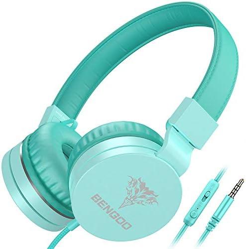 BENGOO Headphones Over Ear Tangle Free Cellphone product image