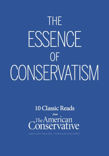 Ebook cover from The Essence of Conservatismby Andrew J. Bacevich