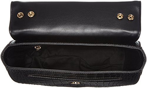 CAVALLI CLASS Damen Night Dea Schultertasche, Grau (Antrachite), 6 x 17 x 21.5 cm