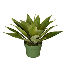 House of Silk Flowers Artificial Agave Succulent 110