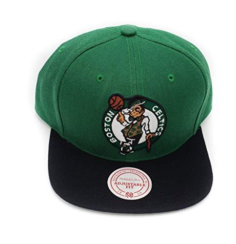 Mitchell & Ness Boston Celtics Wool 2 Tone Adjustable Snapback Hat