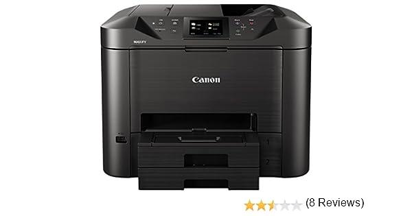 Canon MAXIFY MB5450 - Impresora de inyección de tinta (1 cassette de 250 hojas, pantalla táctil TFT en color de 8,8 cm, 15,5 ipm en color y 24 ipm en ...