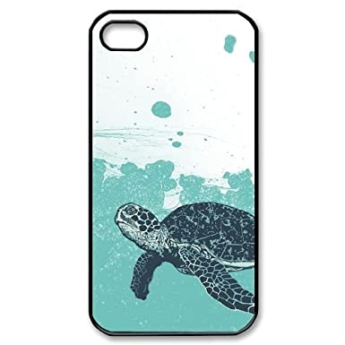 WEUKK Sea Turtle iPhone 4,4S,4G cases, diy case for iPhone 4,4S,4G