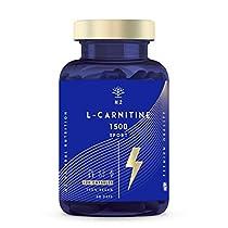 L-CARNITINA Natural 1500 Complemento L Carnitina Quemagrasas Mejora Energía Resistencia Rendimiento Deportivo Ayuda
