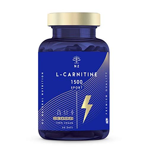 Natural L CARNITINE 1500 Capsules. Fat Burner Pills Supplement. Improves Sports Performance Weight Loss Provides Energy…