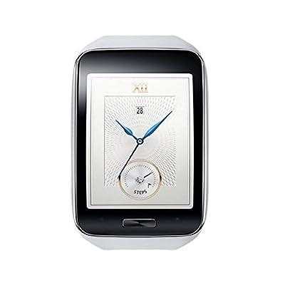 Samsung Galaxy Gear S R750 Smart Watch w/ Curved Super AMOLED Display (White) - International Version No Warranty