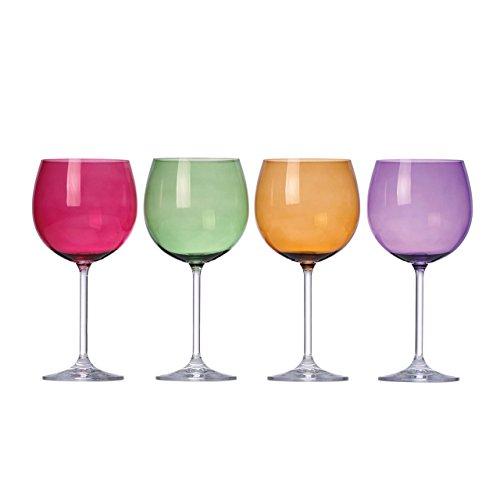 Lenox Tuscany Harvest Balloon Glass (Cranberry Wine Glass)