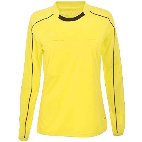 adidas Performance Womens Long Sleeve Soccer Referee 16 Jersey - Yellow - S ()