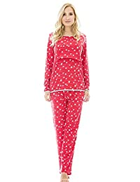 Bearsland Women's Maternity Pregnancy Sleepwear Set Nursing Breastfeeding Pajamas