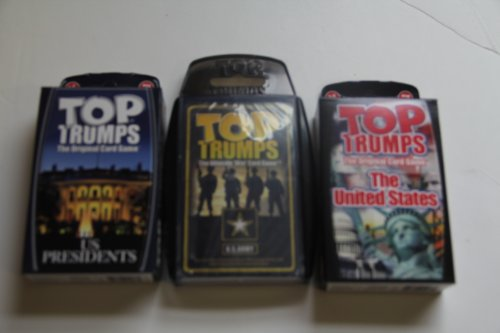 Top Trumps card game - US favorite 3 pack with Presidents...